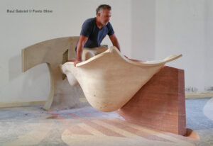 Raul Gabriel © fonte battesimale battistero contemporaneo Olmo arte sacra contemporanea