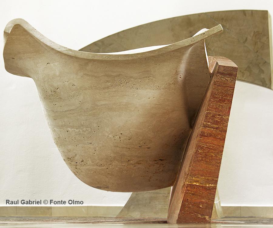 arte sacra contemporanea Raul Gabriel © Fonte battesimale contemporaneo Olmo