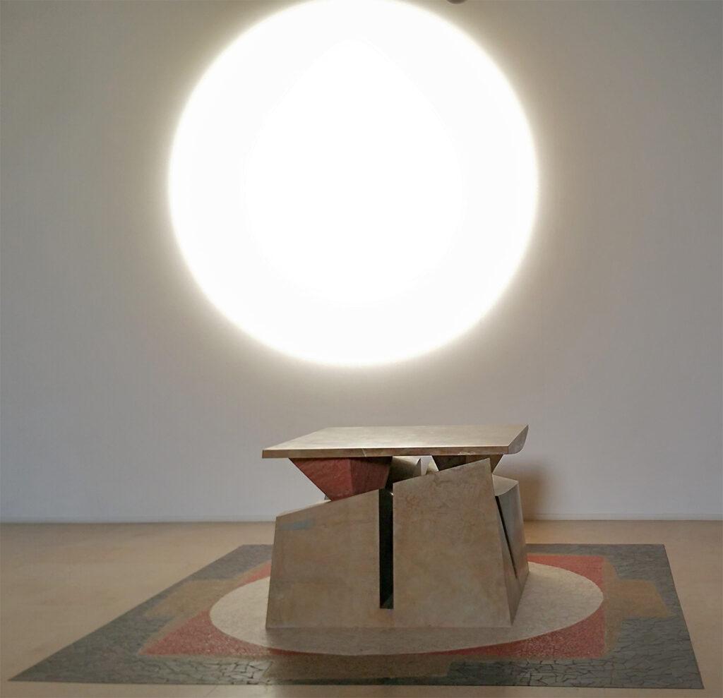 Raul Gabriel © Olmo altare, palladiana luce del rosone sulla parete ,