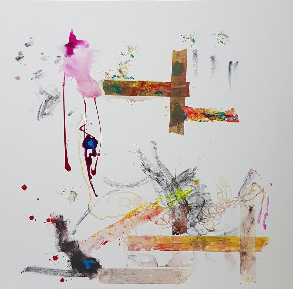 Raul-Gabriel-100x100-SIMPHONY-6-2018-mixed-media-on-canvas